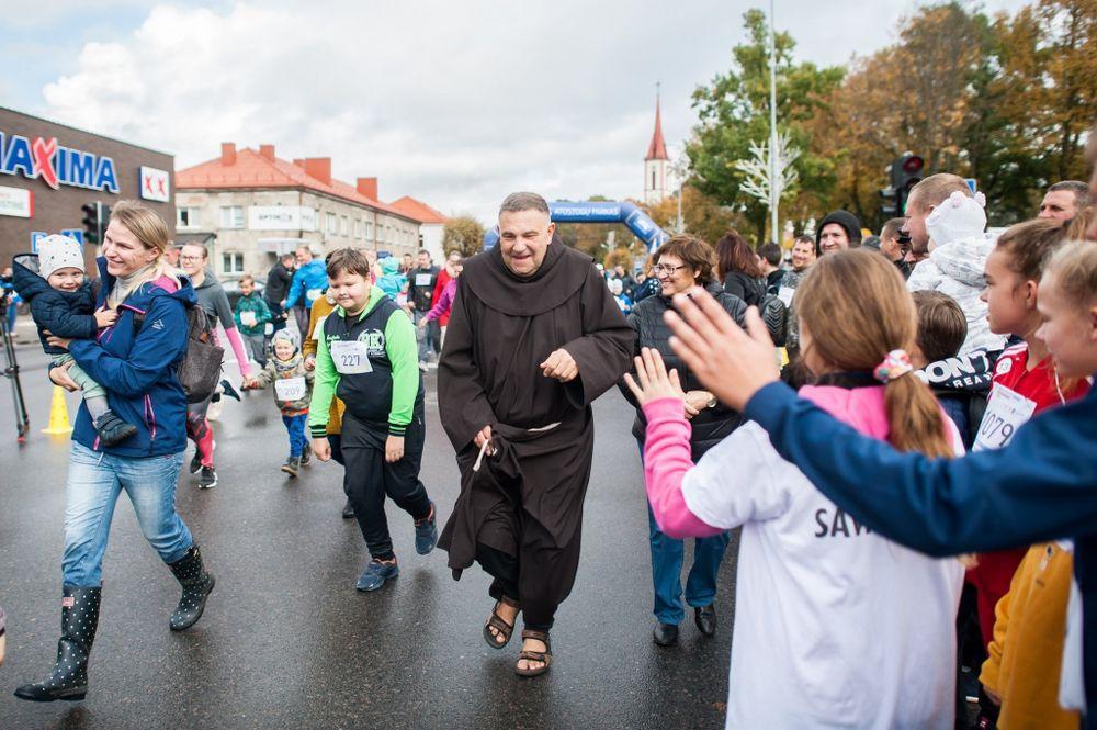 Šv.Pranciškaus taurės bėgimas