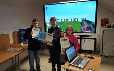 Minecraft Education Edition – erdvė mąstymo, kūrybiškumo, bendravimo ugdymui