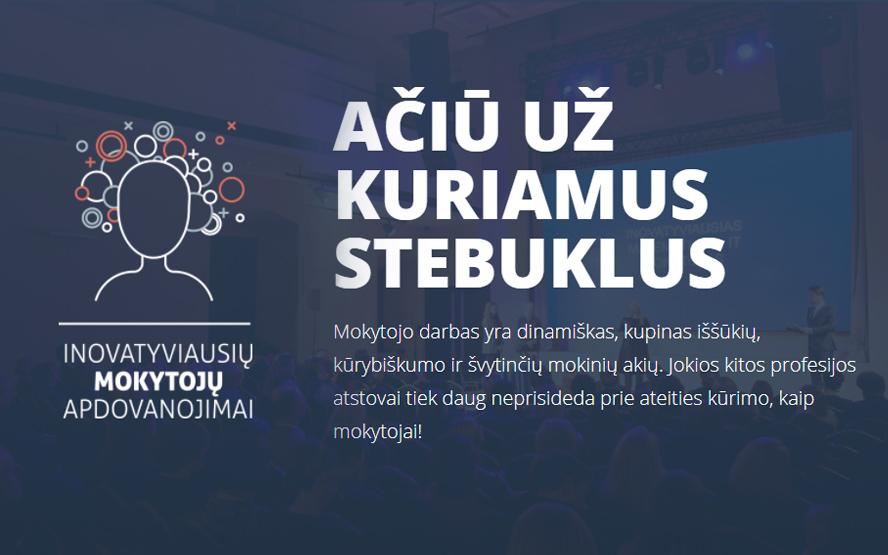 Inovatyviausi mokytojai Vlado Jurgučio progimnazijoje
